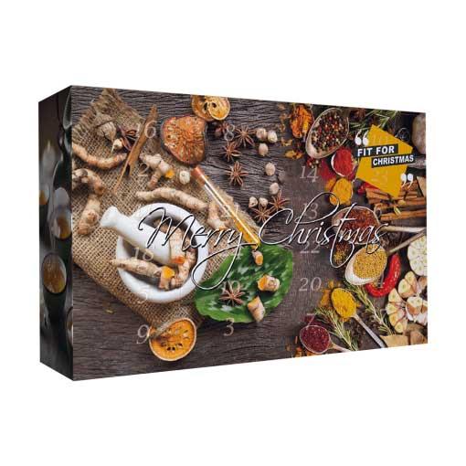 Weihnachtskalender Tee.Tee Adventskalender 2018 Himmlischer Tee Adventskalender Loser Tee 24 Verschiedene Sorten Mit Info Broschüre 360g