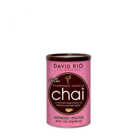 David Rio Chai Latte Tee Flamingo Vanilla Decaf Sugar Free ~ 337g
