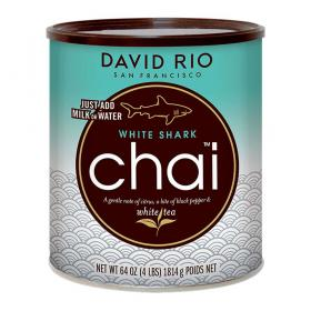 David Rio Chai Latte Tee White Shark ~ 1814g