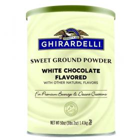 Ghirardelli Trinkschokolade Sweet Ground White Chocolate ~ 1420g